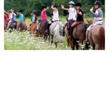Giddy up! Jr. Explorers discover saddling up for horseback riding is more than just fun.