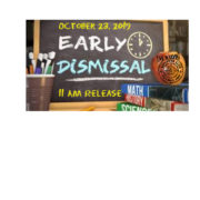 Elem. Early Dismissal Oct. 23 @ 11am