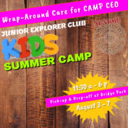 DUBLIN OHIO ONLY: Wrap Around Care for CAMP CEO