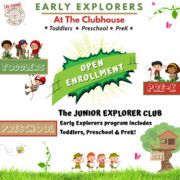EARLY EXPLORERS Program Deposit 2020/2021
